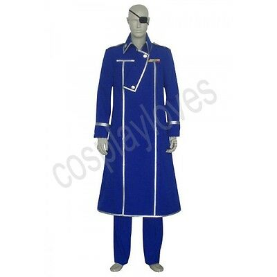 King Bradley Cosplay Costume from FullMetal Alchemist Custom Made