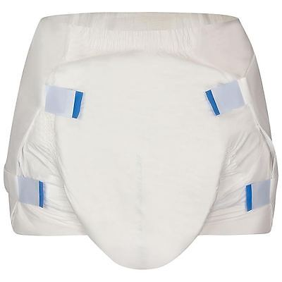 BetterDry Adult Nappy Size  LARGE - CARTON - 4 PACKS - 60 NAPPIES