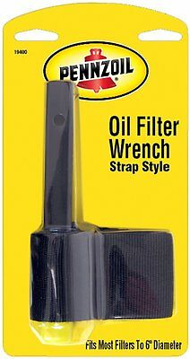 Custom Accessories 19400 Wrench for Pennzoil Strap Type Oil Filter (19400) NEW