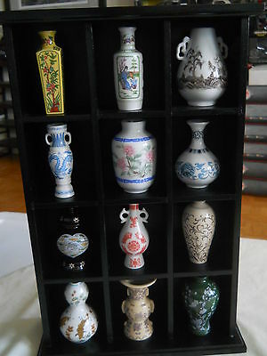 Franklin Mint The Treasures Of The Imperial Dynasties 12 mini vases