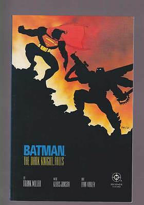 Batman The Dark Knight Returns # 4  Frank Miller  grade 9.0 movie scarce book !!