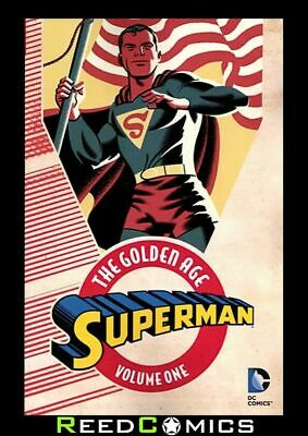 SUPERMAN THE GOLDEN AGE VOLUME 1 GRAPHIC NOVEL New Paperback *384 Pages*