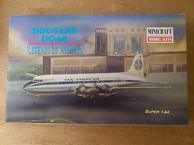 "1:144 Minicraft Nr.14442 Douglas DC-6B "" Legends OF Aviation "". Bausatz OVP"