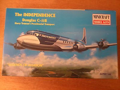 1:144 Minicraft Nr.14447 The Independence Douglas C-118. Bausatz OVP