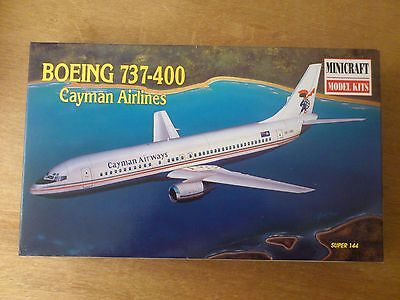1:144 Minicraft Nr. 14464 Boeing 737-400 Cayman Airlines.  Bausatz. OVP