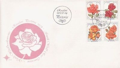 South Africa 1979 Roses FDC