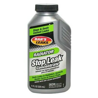 BARS LEAKS RADIATOR STOP LEAK 325ml SEALS COOLING SYSTEM HEATER CORES GASKETS