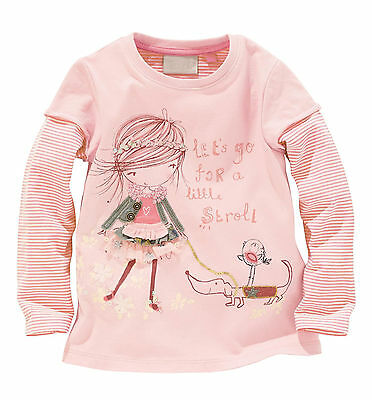 Toddler Baby Kids Girls Clothes Long Sleeve Casual Printed Tops T-Shirt Blouse