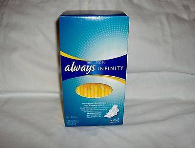 Always Infinity with Flexi-Wings for Regular Flow - 36 Pads