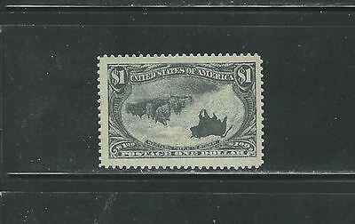 """USA 1898 292 """"Cattle After the Storm"""" Variety Gag Stamp (Stamp is a Joke/Fake)"""