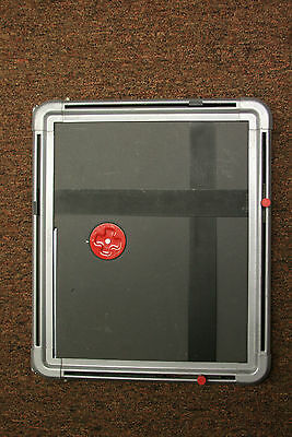"""Airquipt Dialmaster 11x14"""" adjustable metal paper easel. Made in the USA"""