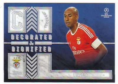 2015-16 Topps UEFA Champions Showcase Decorated and Dignified L Luisao