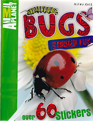 Bugs And Insects Sticker Activity And Fact Book