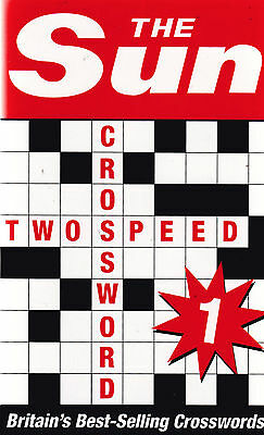 The Sun Two-speed Crossword Book 1 by The Sun (Paperback, 2013)