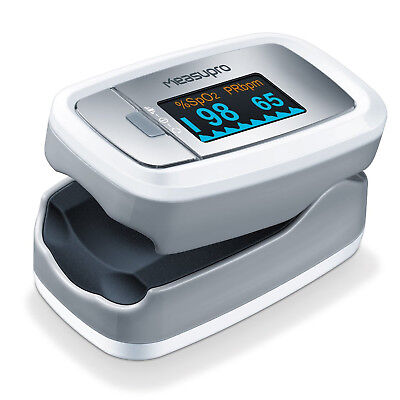 MeasuPro OX150 Finger Pulse Oximeter w/ OLED Display Blood Oxygen SpO2 US Seller