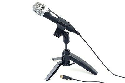 Usb Microphone With Stand & Usb Cable - Cad U1 Usb Mic - Podcasting - Recording