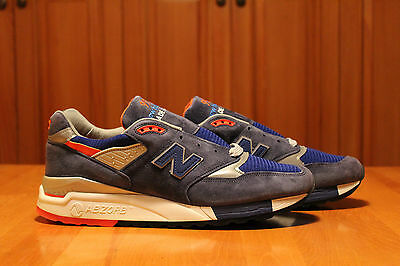e87475f8a15 New Balance M99 Navy Orange Rare Kith Concepts DS Running Cross Training  11.5