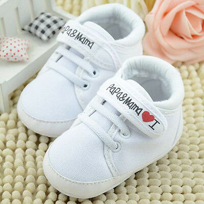 Infant Baby Boy Girl Soft Sole Crib Shoes Cotton Sneaker Newborn to 18 Months