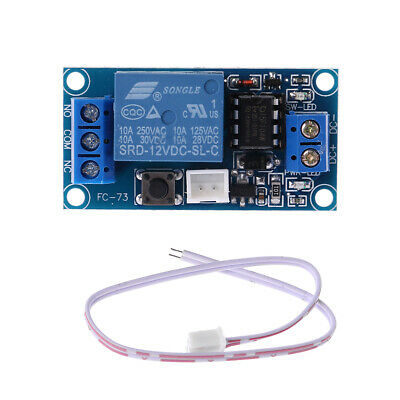 1 Channel Latching Relay Module with Touch Bistable Switch MCU Control DC 12V