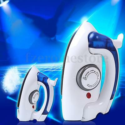 Portable Folding Compact Steam Iron Mains Easy Use 700W Travel Business Holiday