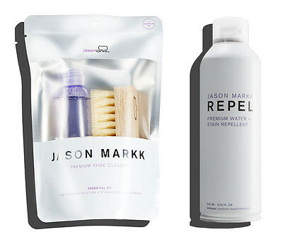 Jason Markk Premium Shoe Cleaning Kit Repel Protect Spray Sneakers Set