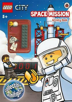 LEGO CITY: Space Mission Activity Book with Minifigure - New Book