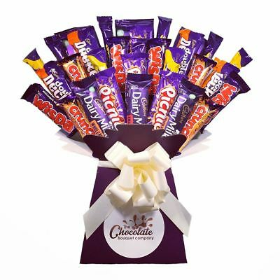 Cadbury XL Whopper Chocolate Bouquet - Sweet Hamper Tree - Perfect Gift