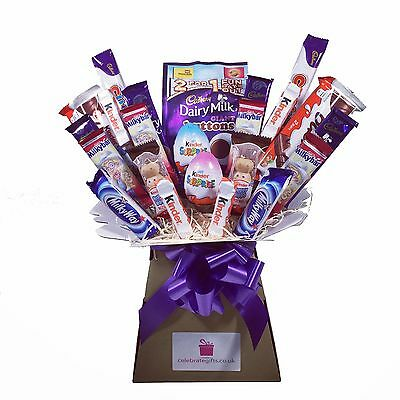 Kids Kinder/Cadbury/Nestle Chocolate Bouquet - Sweet Hamper Tree - Perfect Gift