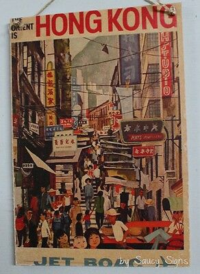 TW82 Vintage 1950 China Chinese Travel Orient Airlines Poster Re-Print A1//A2//A3