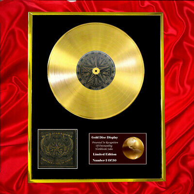 Black Star Riders Another State Of Grace Cd Gold Disc Plated Same As Bpi & Riaa