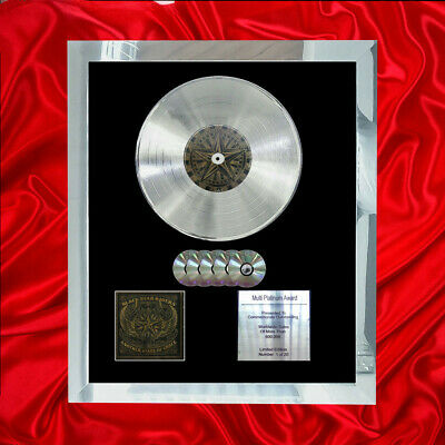 Black Star Riders Another State Of Grace Cd Multi Platinum Disc Bpi & Riaa Same