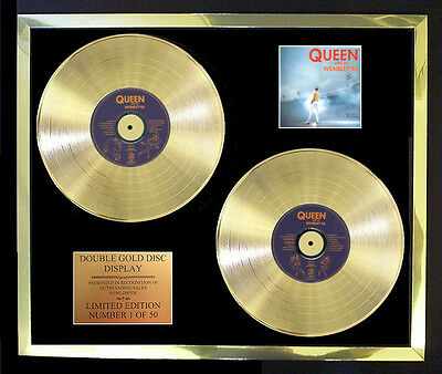 Queen Live At Wembley 1986 Double Album Cd Gold Disc Free Postage!!