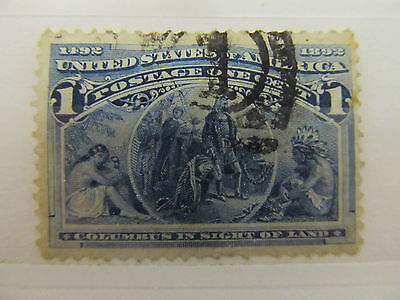 A1P12 UNITED STATES 1893 1c USED
