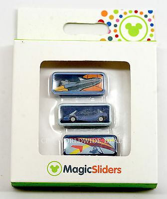 NEW Disney Parks Magic Band Magic Sliders EPCOT Mission Space Test Track Soarin