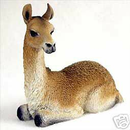 "NEW Llama Lama 4"" Inches Figurine Sculpture Statue Life Like Realistic CC-AF54"
