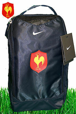 NIKE FRANCE RUGBY Boot Shoe Bag Large capacity Navy Blue