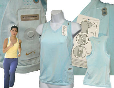 NEW NIKE Ladies Fit Dry IPOD Facility Running / Gym Vest Top NWT