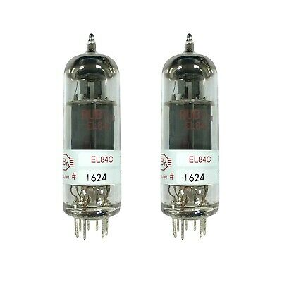Ruby Tubes EL84C Power Vacuum Tube Matched Pair - New