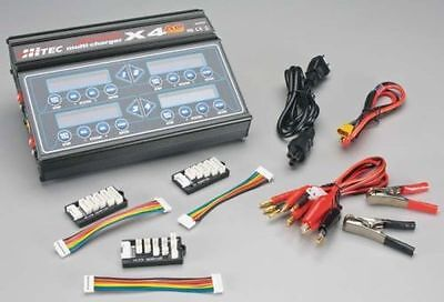 Brand New Hitec X4 Plus Ac/dc Rc Airplane Battery Charger 44167 Hrc44167 !!