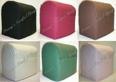 Quilted Kitchenaid Tilt Head Stand Mixer Cover w/2 Pockets (11 Colors)