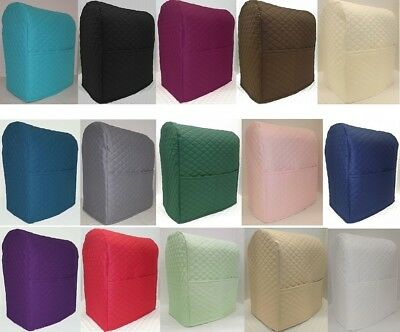 Quilted Kitchenaid 4.5,5,6qt Lift Bowl Stand Mixer Cover w/Pockets (11 Colors)