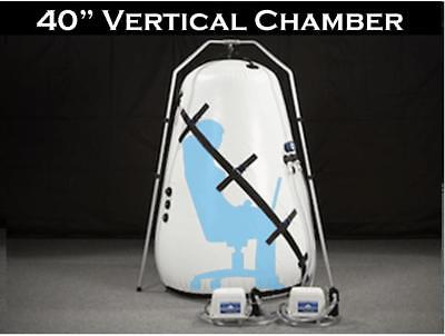 Most Affordable 40 inch Vertical Hyperbaric Oxygen Chamber Finance Free Shipping