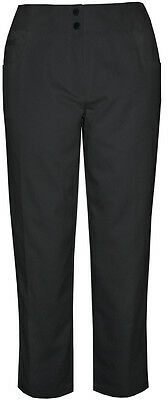 Tail Ladies Modern Fit Crop Pants    Black 4 - golf bottoms