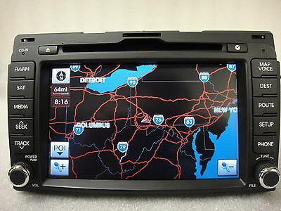 2010-2013 Kia Sportage OEM GPS Navigation System  Display Screen CD Player