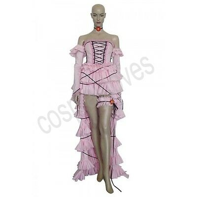 Custom Made Chii Pink Dress Cosplay Costume from anime Chobits
