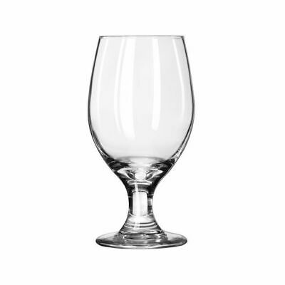 12x Beer Goblet, 414mL, Libbey 'Perception',  Glass / Commercial Glasses