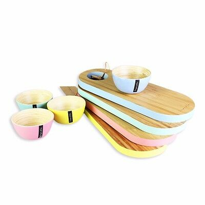 35x13x2 CM Wood Chopping and Serving Board Cutting Kitchen Tableware Party Color