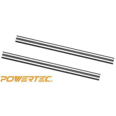 POWERTEC 128314 3-1/4 Carbide Planer Blades for Makita N1900B, 1902X7, Set of 2