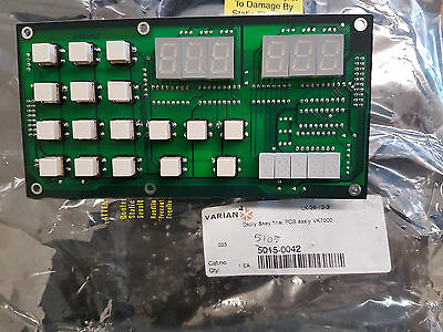 Varian VK7000 Display & Keyboard Assy 5015-0042 FEDEX SHIPPING