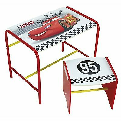 Disney Cars Doodle Desk & Stool New Bedroom Furniture Kids